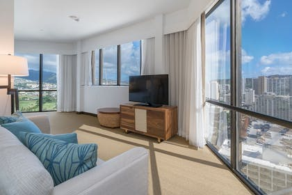 Living Area | Hyatt Centric Waikiki Beach