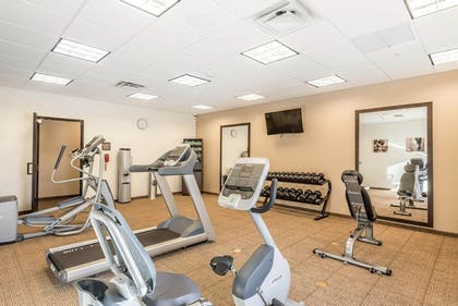 Fitness Facility | Comfort Inn & Suites Sidney I-80