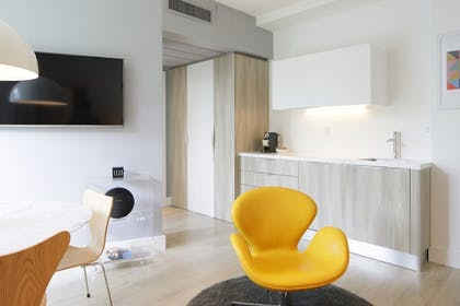 In-Room Kitchenette | Abae Hotel