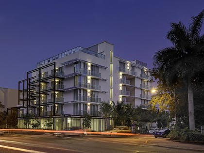 Hotel Front - Evening/Night | Abae Hotel