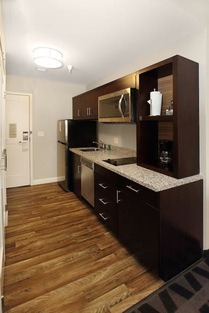 In-Room Kitchen | TownePlace Suites Grove City Mercer/Outlets
