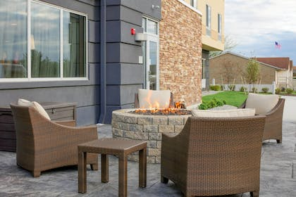 Terrace/Patio   Fairfield Inn and Suites by Marriott Chillicothe