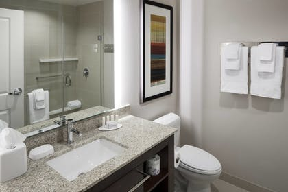 Bathroom | Residence Inn by Marriott Dallas Plano/Richardson