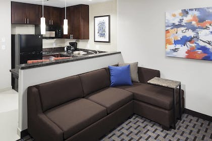 In-Room Kitchen | Residence Inn by Marriott Dallas Plano/Richardson