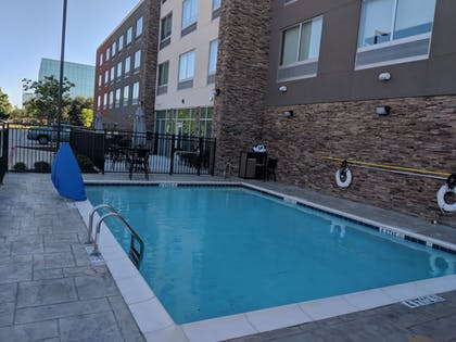 Outdoor Pool | Holiday Inn Express & Suites Dallas North - Addison