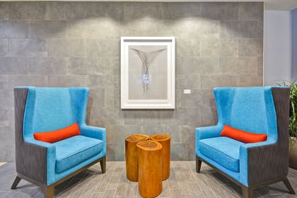 Lobby Sitting Area | Home2 Suites by Hilton Dallas Addison