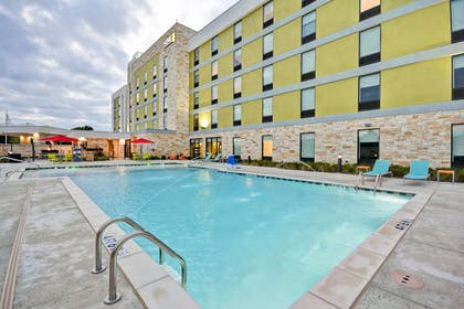 Outdoor Pool | Home2 Suites by Hilton Dallas Addison