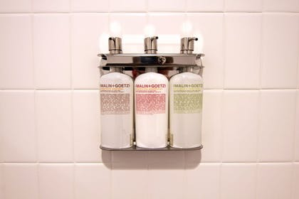 Bathroom Amenities | The Oxbow Hotel