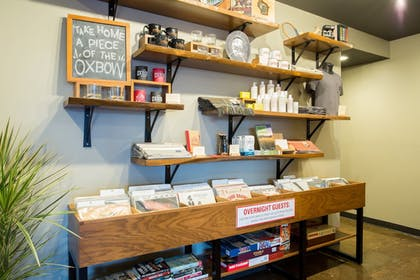Gift Shop | The Oxbow Hotel