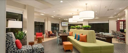 Lobby Sitting Area | Home2 Suites by Hilton Portland