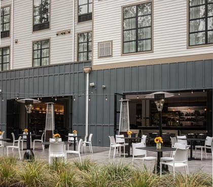Terrace/Patio | Hotel Zero Degrees Danbury