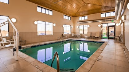 Indoor Pool | Best Western Plus Hudson Hotel & Suites