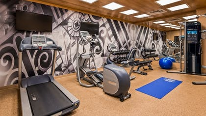 Gym | Best Western Plus Hudson Hotel & Suites