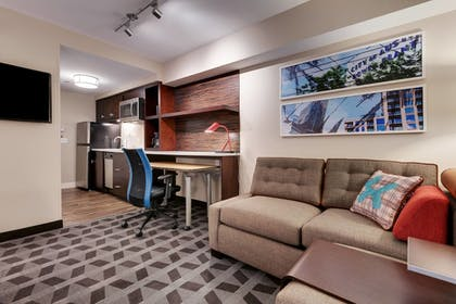 Living Area | TownePlace Suites by Marriott Austin North/Tech Ridge