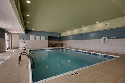 Indoor Pool | Holiday Inn Express & Suites Mount Vernon