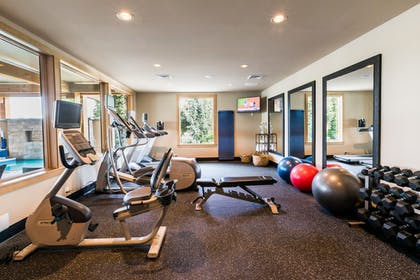 Fitness Facility | The Lodge at Columbia Point