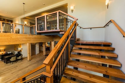 Staircase | The Lodge at Columbia Point