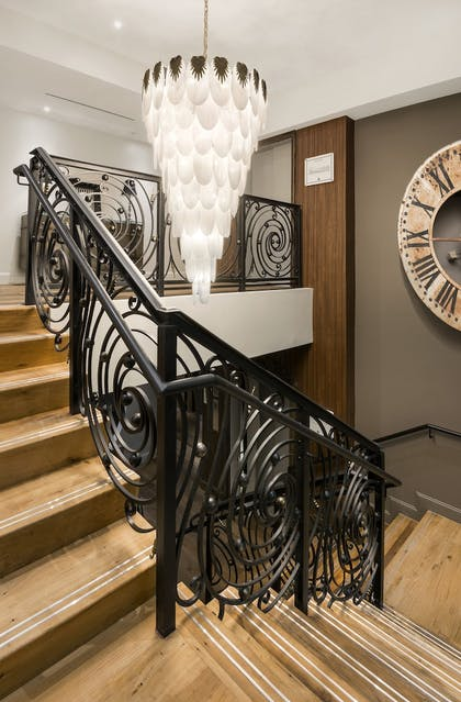 Staircase | The Ivey's Hotel