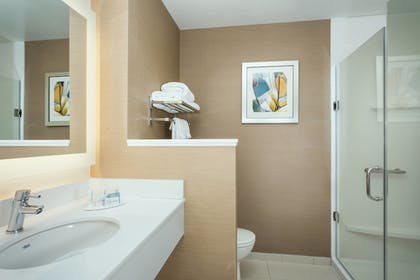 Bathroom | Fairfield Inn & Suites by Marriott Tacoma DuPont