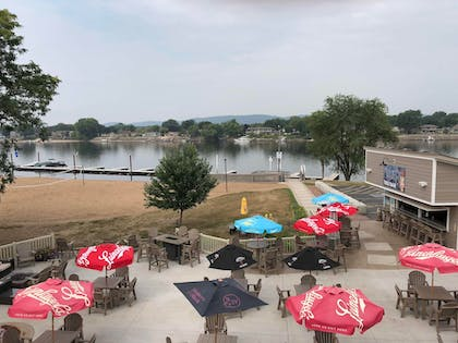 Outdoor Dining | AmericInn by Wyndham La Crosse Riverfront-Conference Center