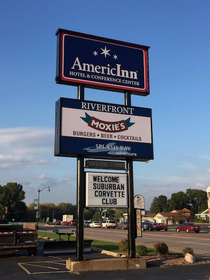 Front of Property | AmericInn by Wyndham La Crosse Riverfront-Conference Center