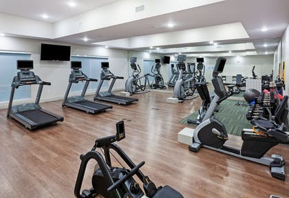 Fitness Facility | Holiday Inn Express & Suites Brenham South
