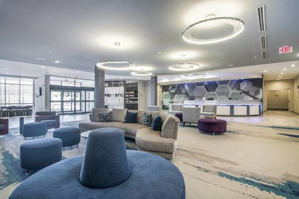 Lobby | SpringHill Suites by Marriott Oklahoma City Downtown