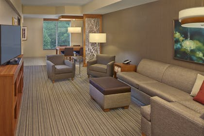Living Room | Hyatt Place Chapel Hill / Southern Village