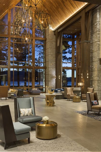 Lobby Lounge | The Lodge at Edgewood Tahoe