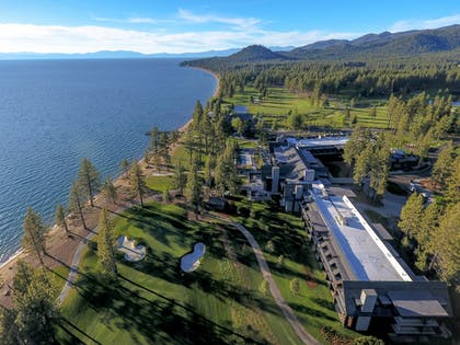 Aerial View | The Lodge at Edgewood Tahoe