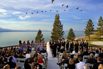Outdoor Wedding Area | The Lodge at Edgewood Tahoe