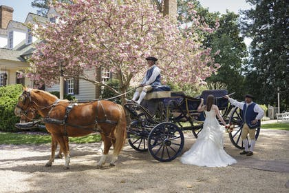 Outdoor Wedding Area | The Colonial Houses - A Colonial Williamsburg Hotel