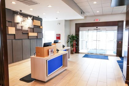 Check-in/Check-out Kiosk | Holiday Inn Express & Suites Houston IAH - Beltway 8