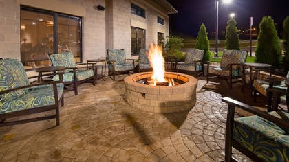 Terrace/Patio | Best Western Plus Franciscan Square Inn and Suites