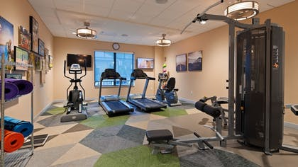 Fitness Facility | Best Western Plus Franciscan Square Inn and Suites