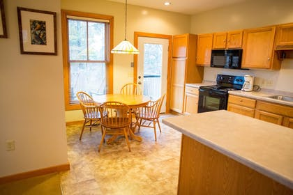 In-Room Kitchen | Heartwood Conference Center & Retreat