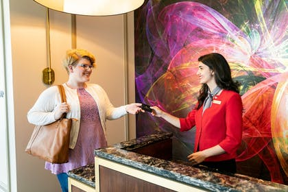 Check-in/Check-out Kiosk | The Tennessean Personal Luxury Hotel