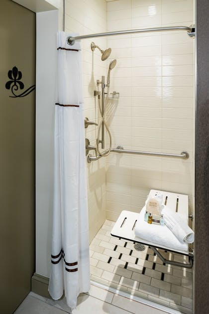 Bathroom Shower | The Tennessean Personal Luxury Hotel