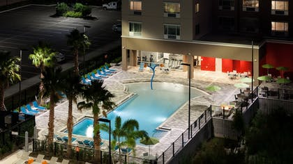Outdoor Pool | Holiday Inn Express & Suites Orlando at SeaWorld