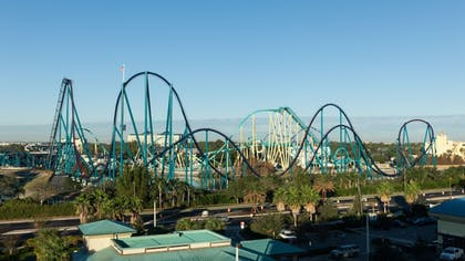 View from Hotel | Holiday Inn Express & Suites Orlando at SeaWorld