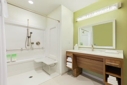Bathroom | Home2 Suites By Hilton Youngstown West - Austintown