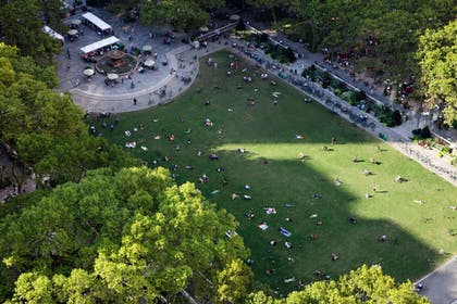 View from Hotel | Park Terrace Hotel on Bryant Park
