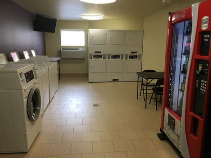Laundry Room | Aspen Suites Hotel Sitka