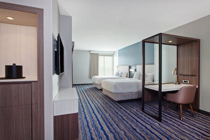 | Suite, 2 Queen Bed with 1 Sofa Bed | SpringHill Suites by Marriott Huntington Beach Orange County