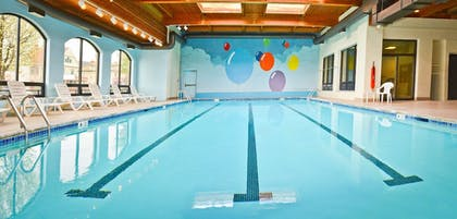 Indoor Pool | Penn Wells Lodge
