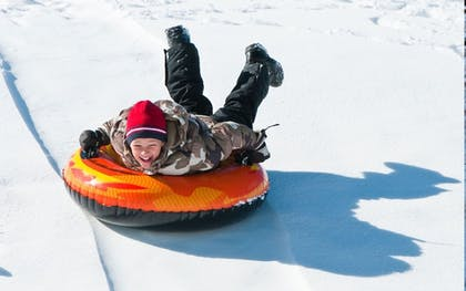 Snow tubing   The Pointe Hotel and Suites