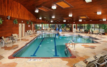 Indoor Pool   The Pointe Hotel and Suites