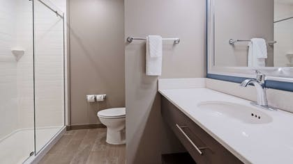 Bathroom | Best Western Plus Erie Inn & Suites