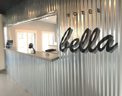 Check-in/Check-out Kiosk | Hotel Bella