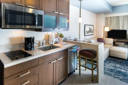 In-Room Kitchenette | Residence Inn Phoenix Downtown